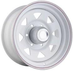 Штампованные диски j&l racing (белый с колпаком)